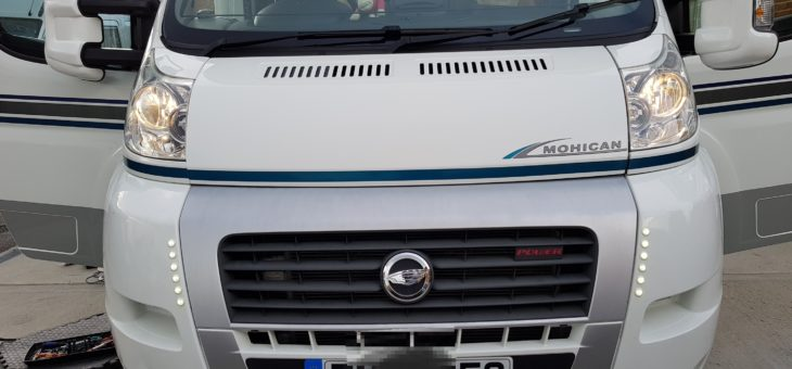 Fiat Ducato motorhome day running lights (DRL's).