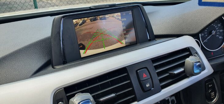 Customer supplied Bimmer-tech reverse camera.