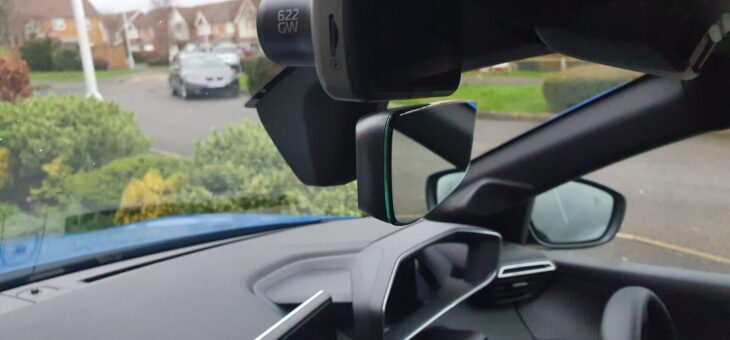 Peugeot e208 Nextbase front and rear dash cam Installation.