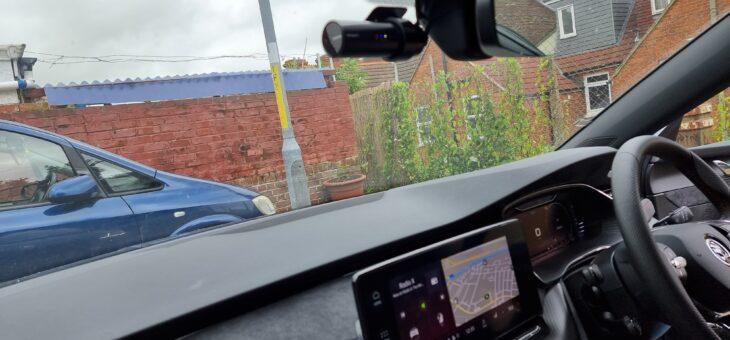 2021 Skoda Octavia VRs front and rear Blackvue dash cam installation.