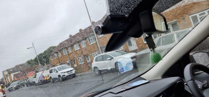 Ford Kuga Thinkware Dash Cam installation.